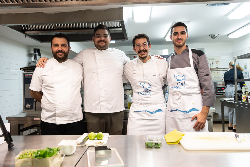 Hapo Ambassador Chef Alexandros Tsiotinis Leads A Workshop For