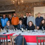 Σε ταβέρνα στην Ηγουμενίτσα, μετά την επίσκεψη δημοσιογράφων γεύσης στις μονάδες των μελών της ΕΛΟΠΥ