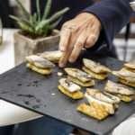 Πιάτο 1 με ψάρια Fish from Greece στη συνέντευξη τύπου της ΕΛΟΠΥ